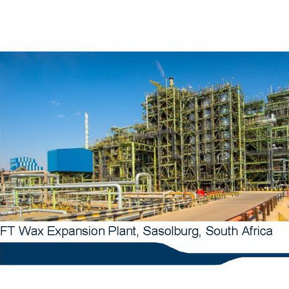 Sasol inaugurated the full completion of its R13,6 billion FT Wax Expansion Project (FTWEP). Phase 2 began beneficial operation in March 2017, while phase 1 was commissioned in 2015, by chemwinfo