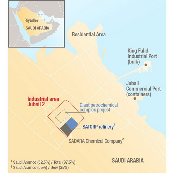 Saudi Aramco and Total Sign a Memorandum of Understanding to Build a Giant Petrochemical Complex, by chemwinfo