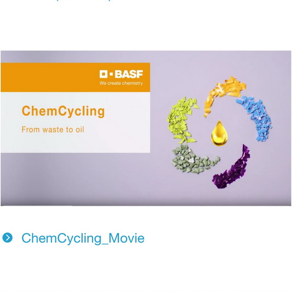 Circular economy, ChemCycling project, BASF for the first time makes products with chemically recycled plastics, by chemwinfo