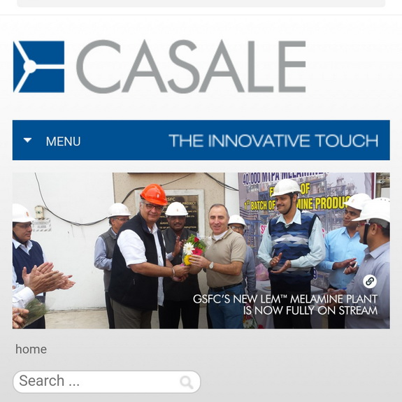 GSFC (India) and Casale SA (Switzerland) announce that GSFC�s 40�000 MT/y new melamine plant in Vadodara (India), based on Casale�s Low Energy Melamine (LEM) technology is now fully operation, by chemwinfo